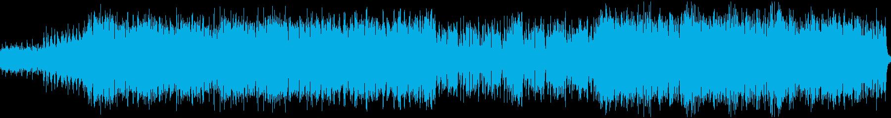 サイバーパンク都市のテーマ(ループ)の再生済みの波形