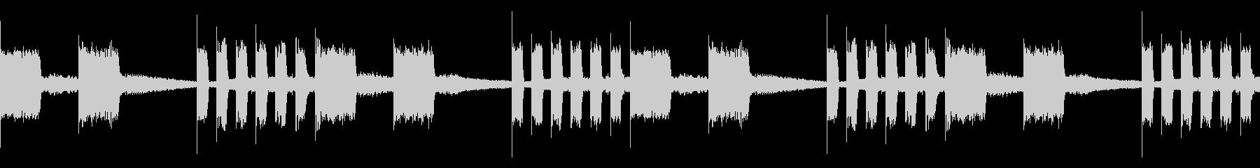 EDM レーザーサウンド ループの未再生の波形