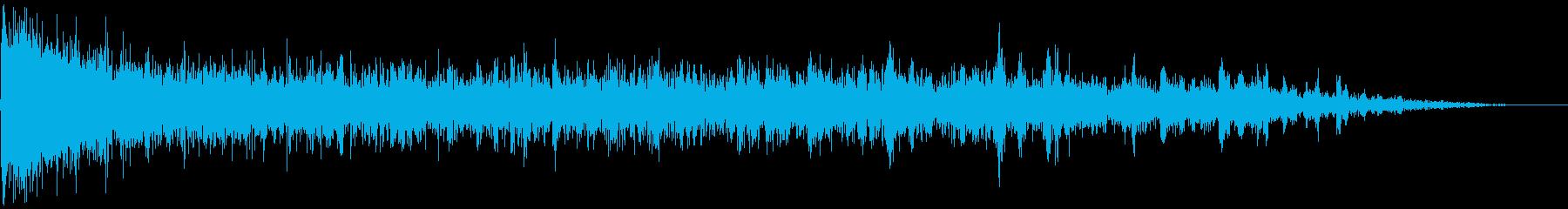 【ゲーム】衝撃音_04 ガチャリンッ!!の再生済みの波形