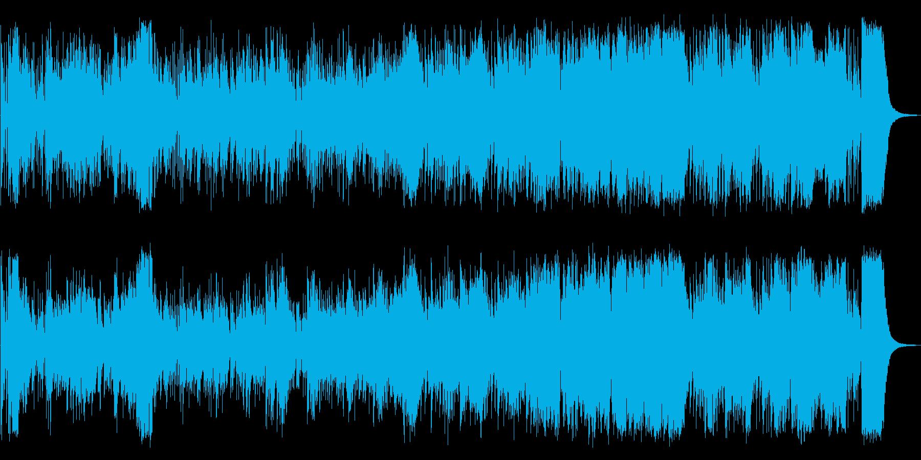 心華やぐかっこいいジャズの再生済みの波形