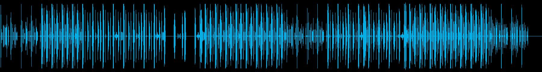 ゆっくりめのLo-fiHOP系の再生済みの波形
