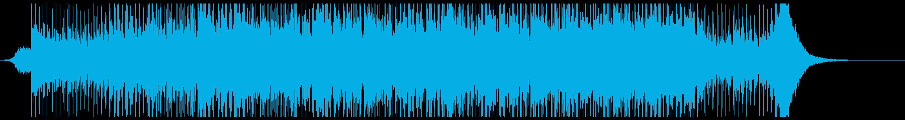 荘厳なギターアンビエントの再生済みの波形