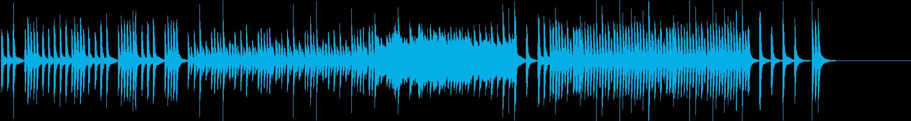 元気でカワイイ 子供映像向けピアノソロFの再生済みの波形