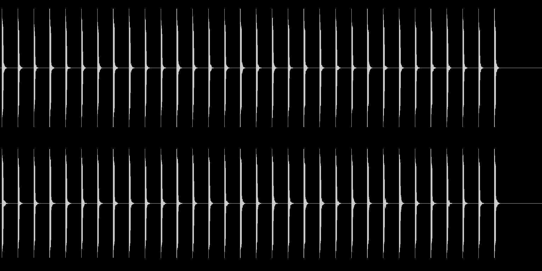心電図の音-4-1(BPM40)の未再生の波形