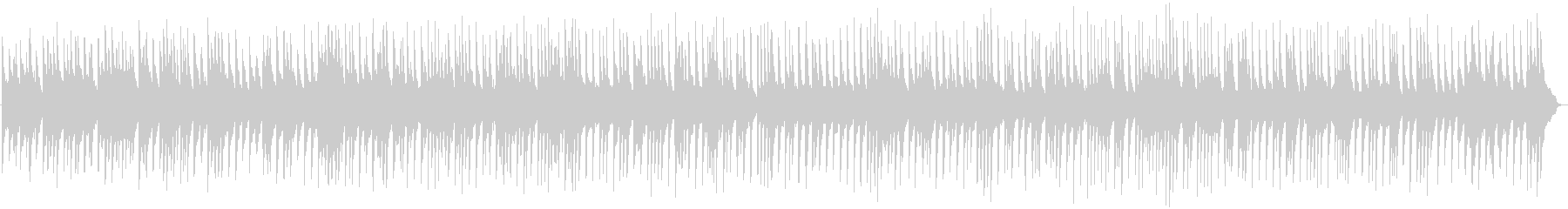 切なく美しいピアノによるバラードBGMの未再生の波形