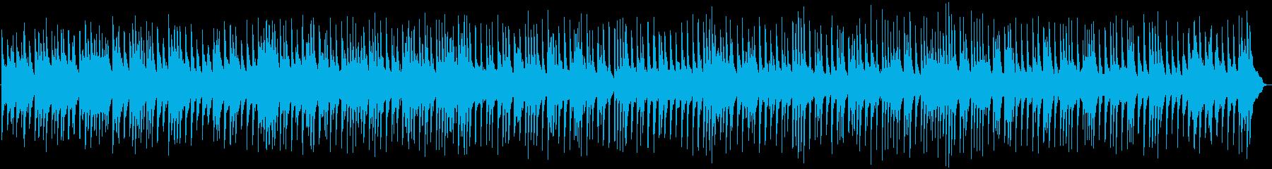 切なく美しいピアノによるバラードBGMの再生済みの波形