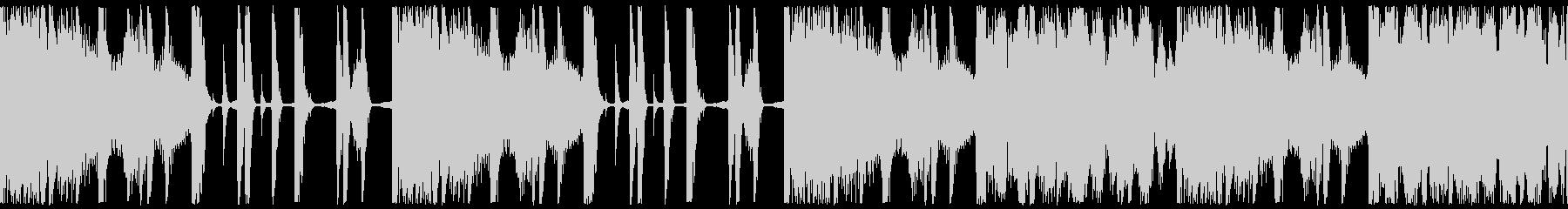 ループ素材:ヒップホップ/おしゃれの未再生の波形