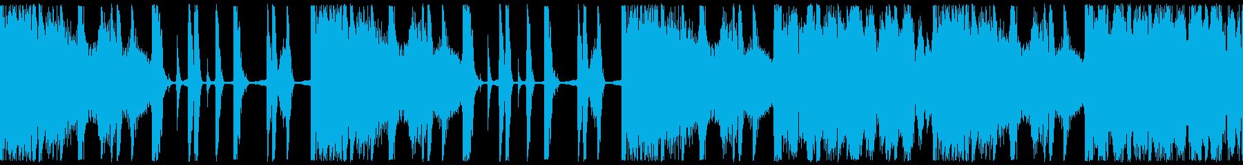 ループ素材:ヒップホップ/おしゃれの再生済みの波形
