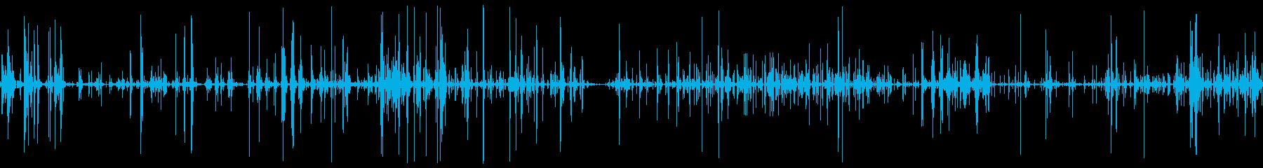 チェーンメタルジングル大部屋の再生済みの波形