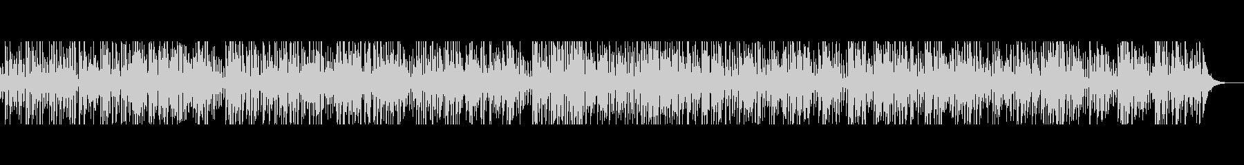 ジャズジプシーギターアドリブ演奏の未再生の波形