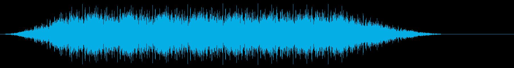 ピーンピーンピーンピーンの再生済みの波形
