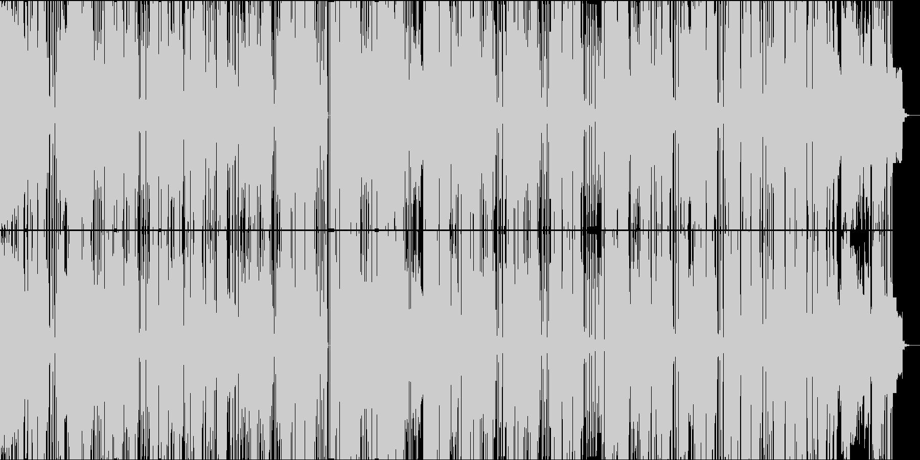 キュートで毒のある電子ポップサウンドの未再生の波形