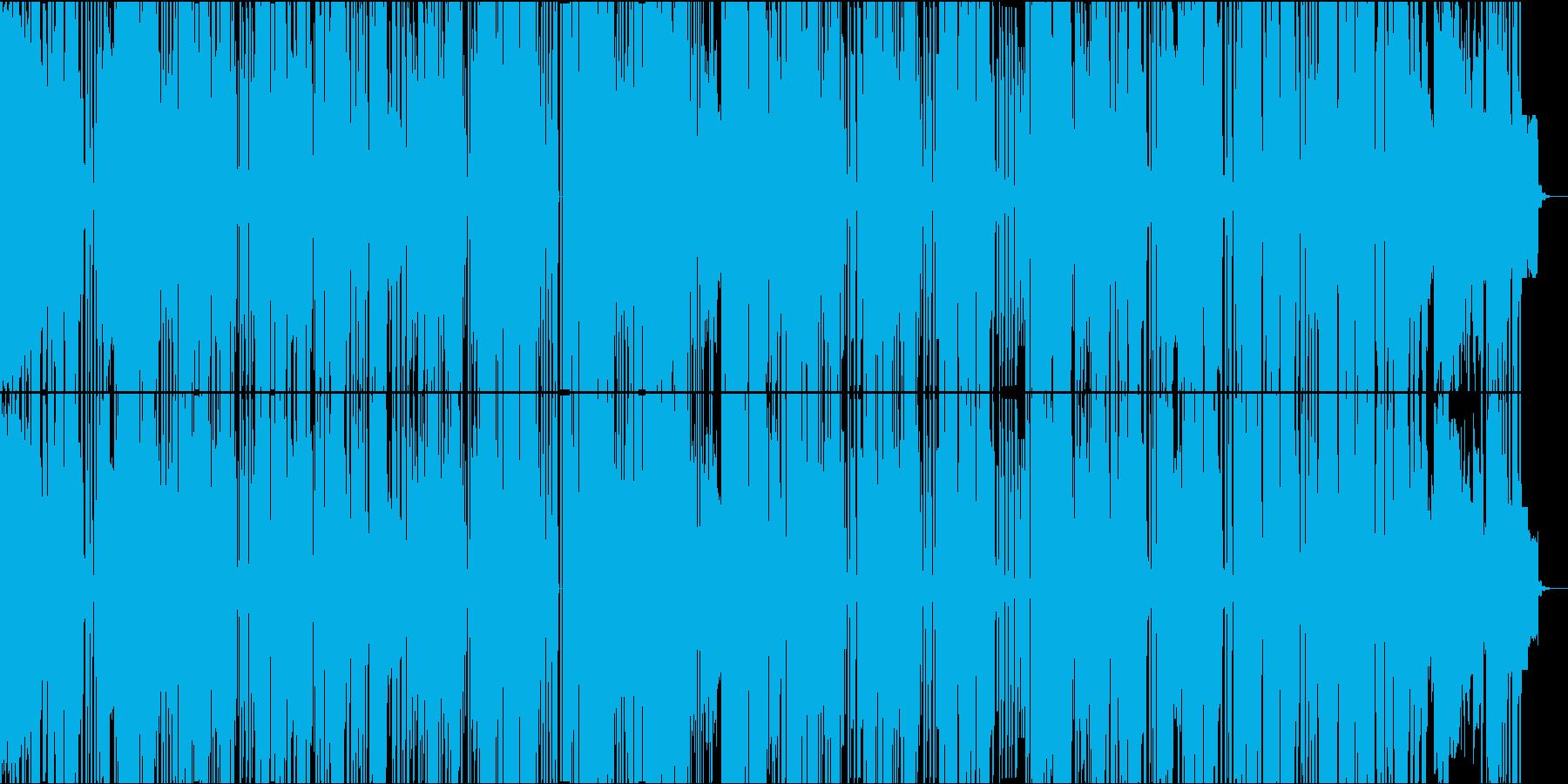 キュートで毒のある電子ポップサウンドの再生済みの波形