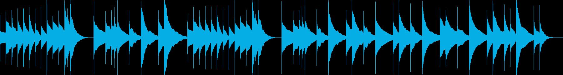 オルゴール/睡眠/癒し/プロフィールの再生済みの波形