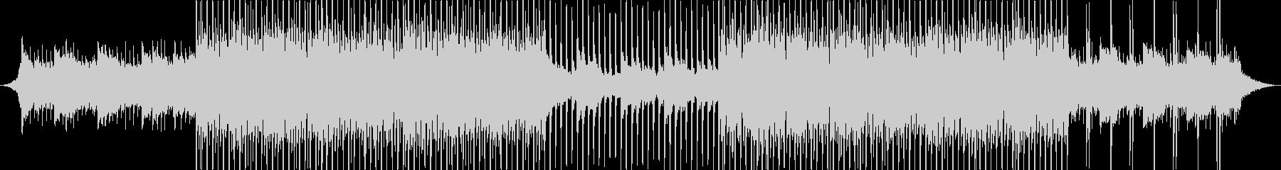 洋楽風 トロピカルハウス アコギの未再生の波形