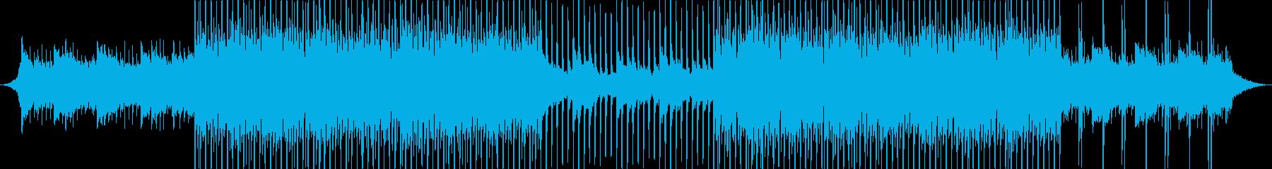 洋楽風 トロピカルハウス アコギの再生済みの波形