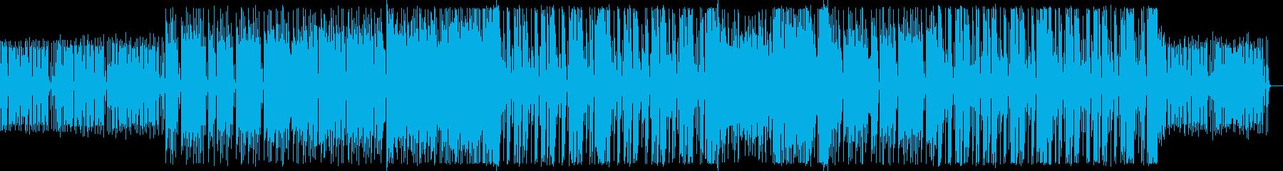 リズミカルなフューチャーベースですの再生済みの波形