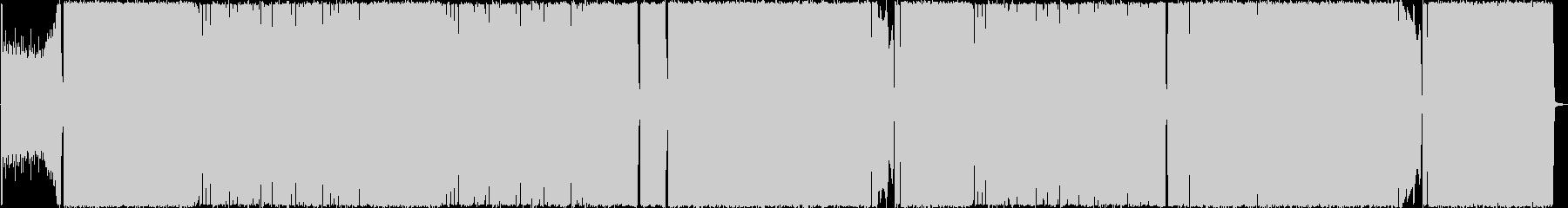 ギターメインのダンサブルハードロックの未再生の波形