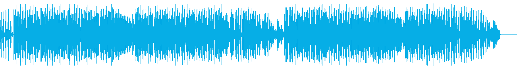 叙情的な旋律でドラマティックな雰囲気の曲の再生済みの波形