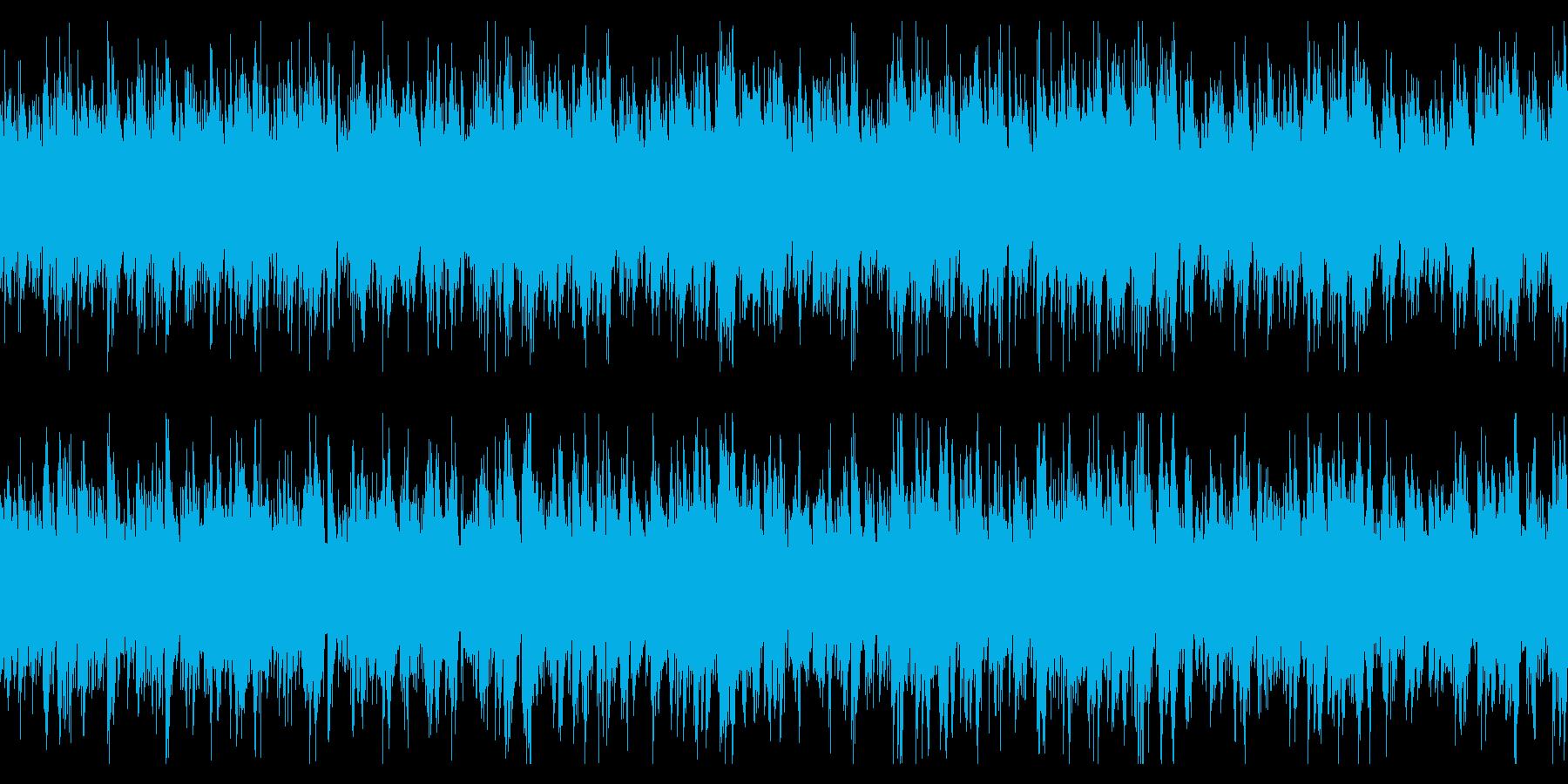 ループ仕様・ニュースや科学番組用 2の再生済みの波形