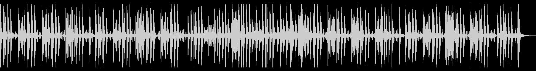 ピアノとマリンバでほのぼの日常シーンの未再生の波形