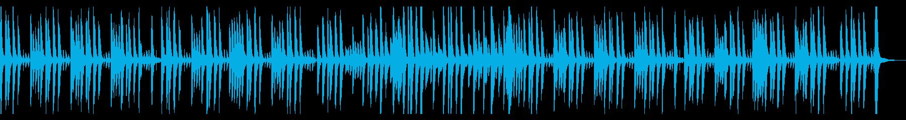 ピアノとマリンバでほのぼの日常シーンの再生済みの波形