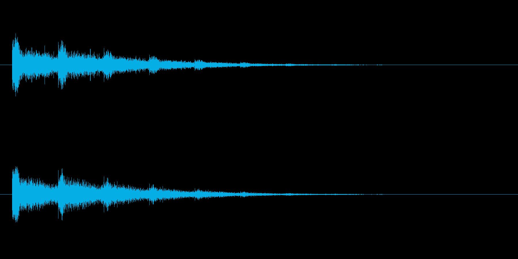 【スポットライト04-2】の再生済みの波形