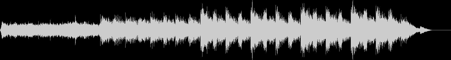ショートBGM、エスニックフォレストの未再生の波形