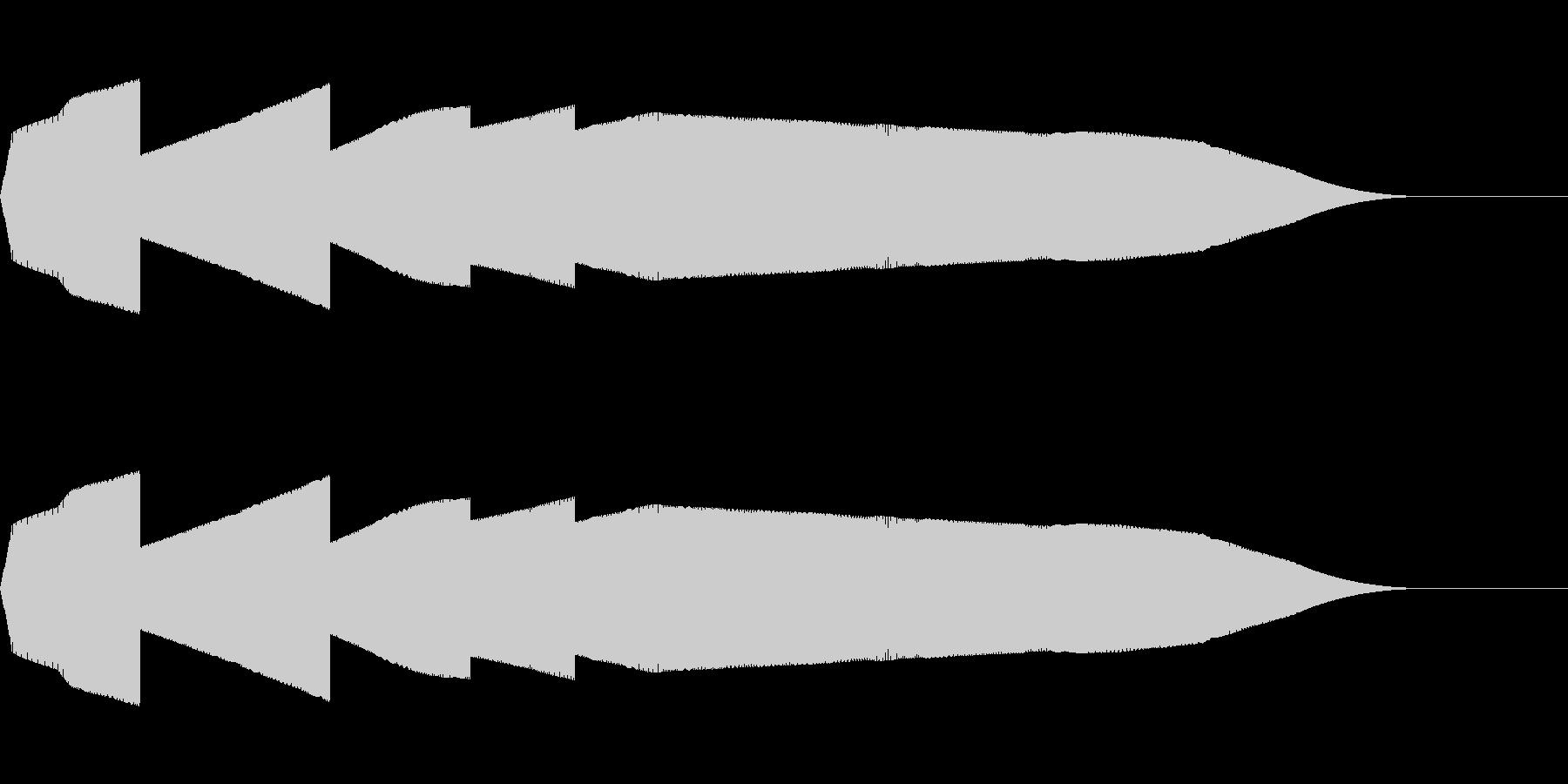 ピュイ(ファミコン/鳴き声/動物/ノイズの未再生の波形