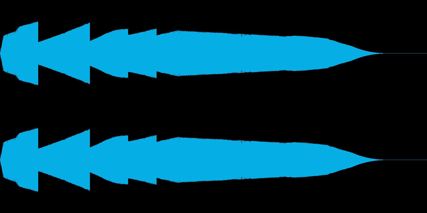 ピュイ(ファミコン/鳴き声/動物/ノイズの再生済みの波形