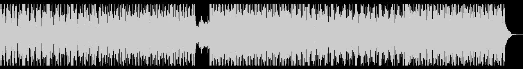 ミディアムテンポのプログレッシブハウスの未再生の波形