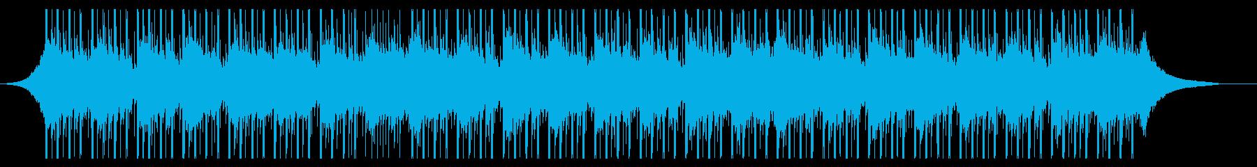 刺激的なインタビュー(60秒)の再生済みの波形