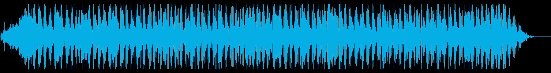 アンビエント、クール、静かの再生済みの波形