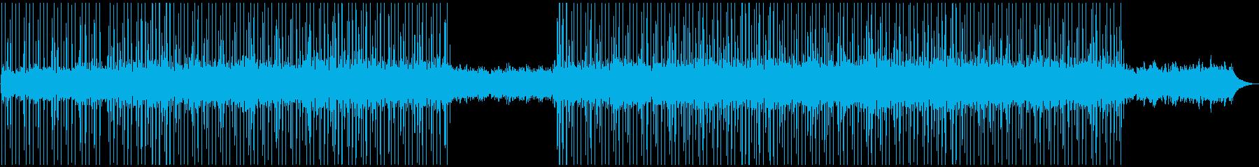 優しい雰囲気・日常系チルBGMの再生済みの波形