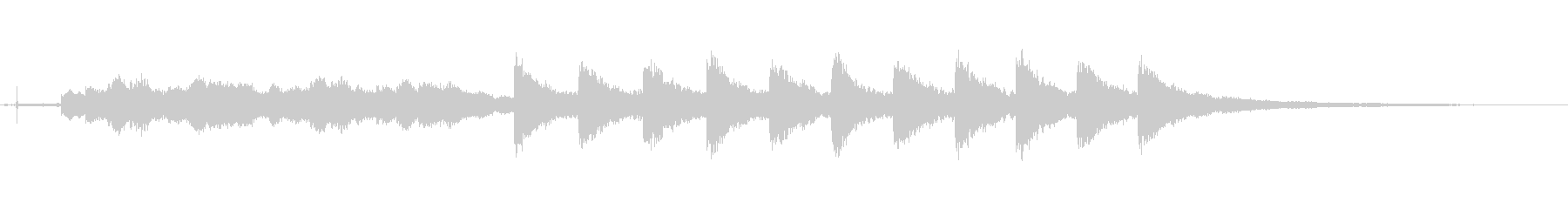 ウェストミンスター:イレブンオクロ...の未再生の波形