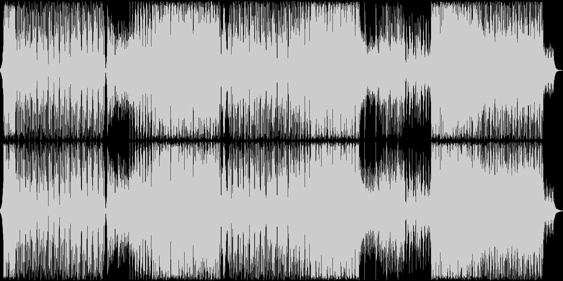 囚われた美しい鳥のエレクトロニカの未再生の波形