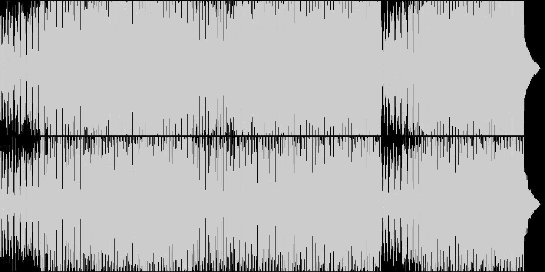 ノリノリなディスコの未再生の波形