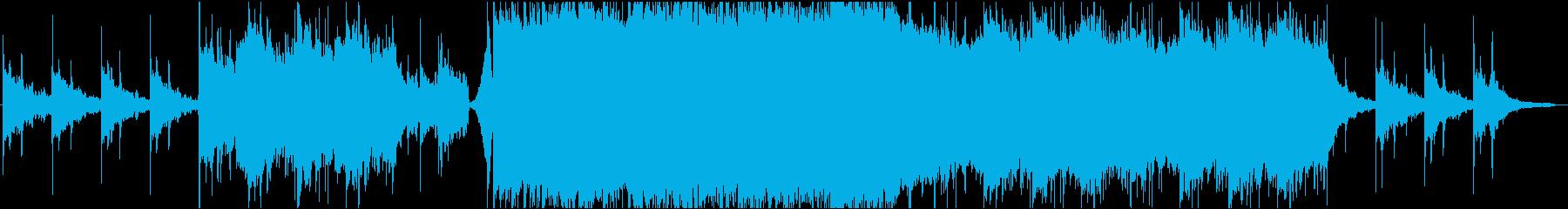 エモロック系インスト 幻想的な雰囲気の再生済みの波形