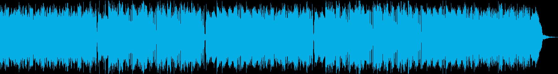 ローファイ、チルアウト、ヒップホップの再生済みの波形