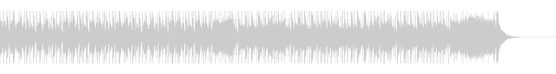 アラビアベリーダンス(45秒)の未再生の波形