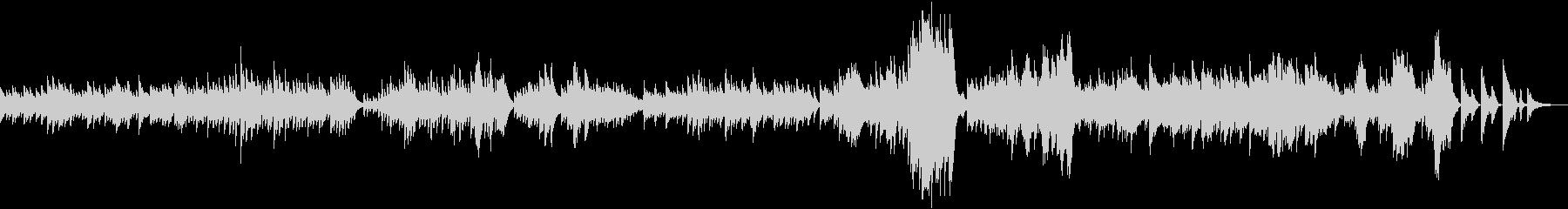 ベートーヴェン ピアノソナタ第8番 悲愴の未再生の波形