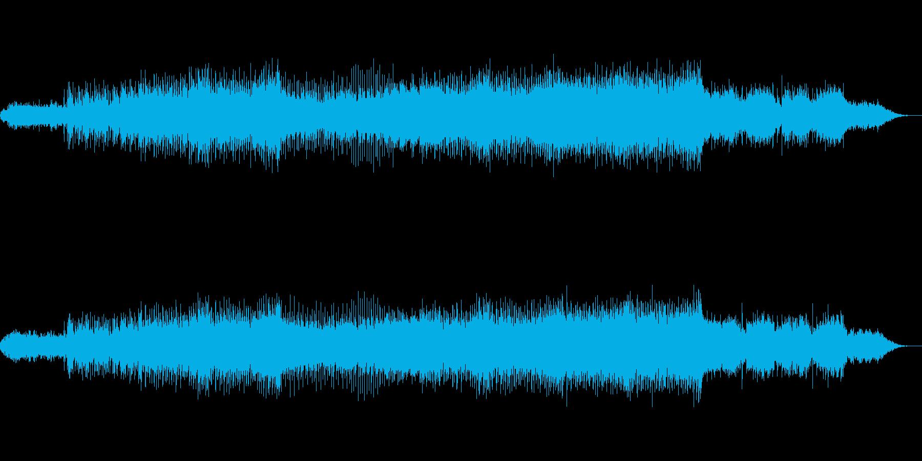 ❤️壮大で力強いオーケストラ風EDMの再生済みの波形