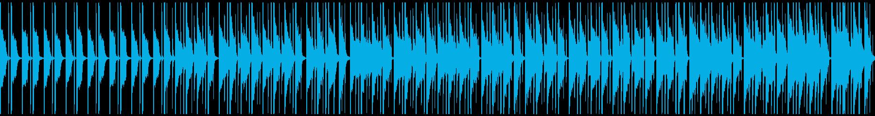 のんびり穏やかな可愛らしい日常系BGMの再生済みの波形