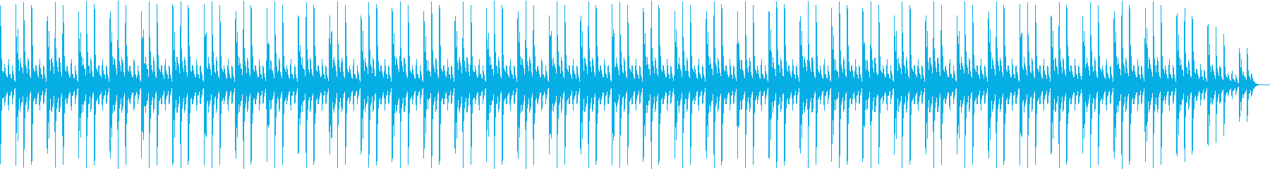 ストリングスのBGMの再生済みの波形