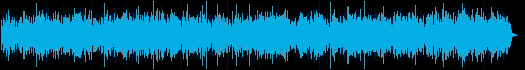 マイナーなモダンカントリーBGMの再生済みの波形