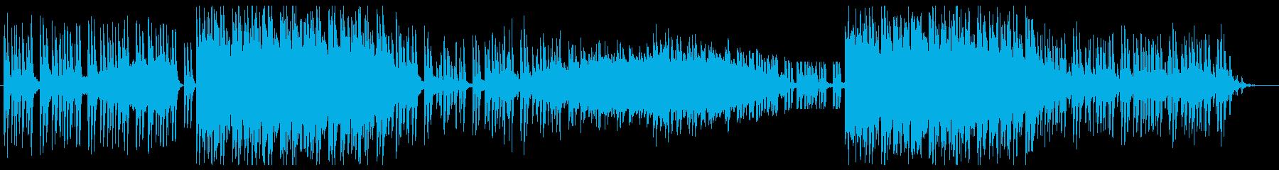 オリエンタルで勇壮なイメージの楽曲の再生済みの波形