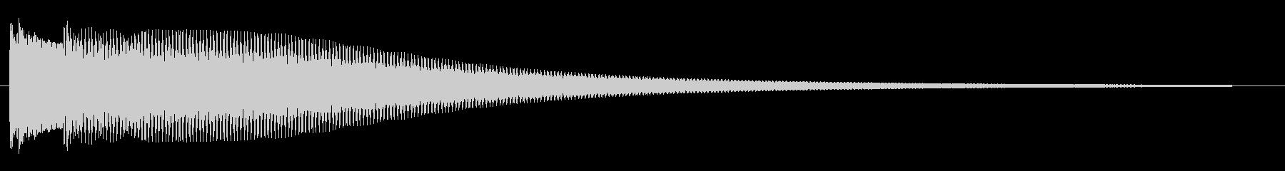 キラン系(チャラン)の未再生の波形