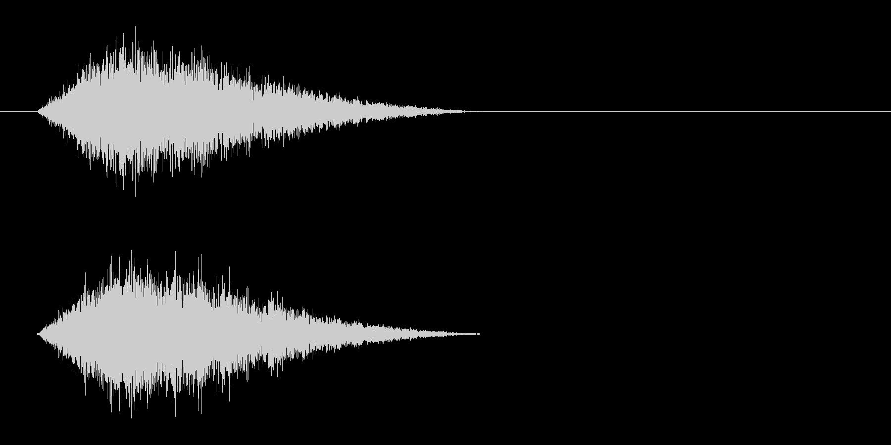 クリーチャー 呼吸の未再生の波形
