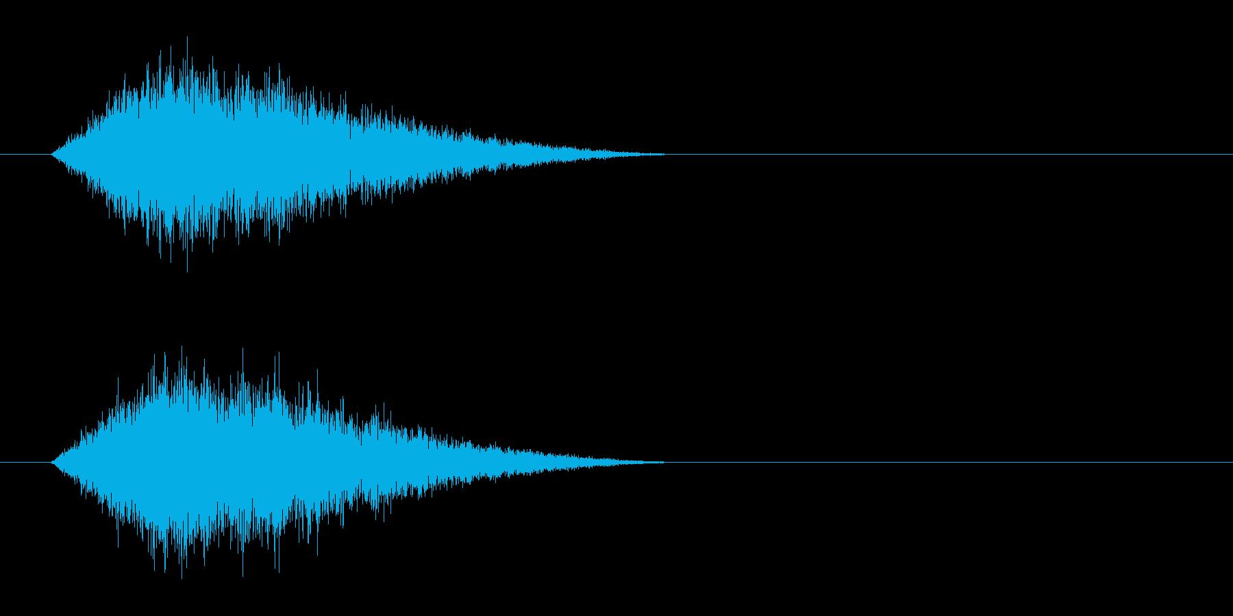 クリーチャー 呼吸の再生済みの波形
