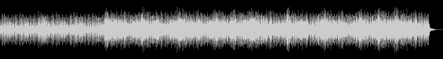 80sを感じさせるシンセサイザーBGMの未再生の波形